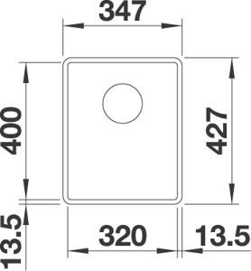 Blanco Subline 320-F7