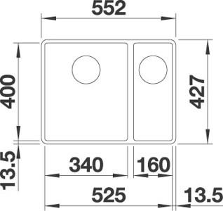 Blanco Subline 340160-F7