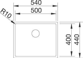 BlancoClaron 500-U2